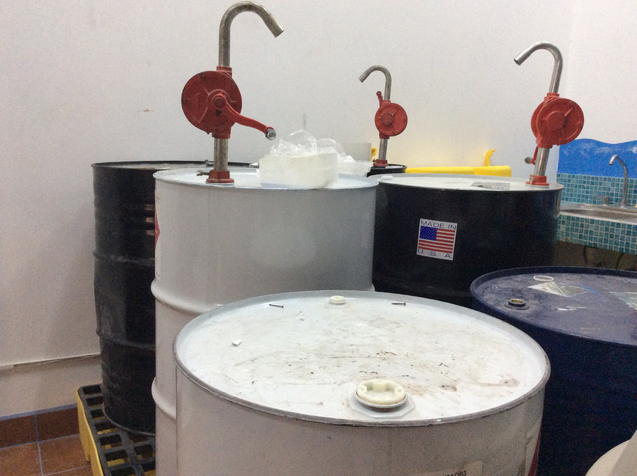 Resin and Epoxy Drums